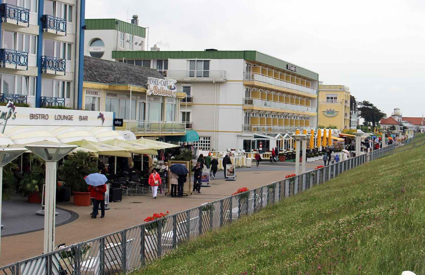 Duhnen - Promenade